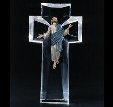 """Starlite Originals """"The Ascent"""" Jesus Bronze Lucite Art Sculpture Statue"""