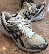 Asics Gel Maverick 3 Women's White/Black/Gray Running Shoes Size 9.5, T077N