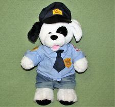 BUILD A BEAR COOKIES n CREAM POLICE DOG POLICEMAN STUFFED ANIMAL PLUSH HERO TOY
