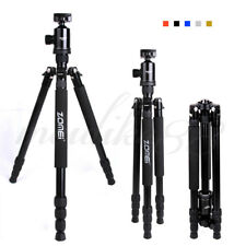 Z888 Professional Portable Aluminium Tripod Monopod&Ball Head For DSLR Camera
