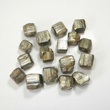 About 100g Stone Specimen Iron Pyrite Natural Raw Material Cubes About 3-5 Pcs