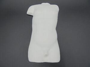 1 Torso Mann, Form, Giessform, Länge: 14 cm