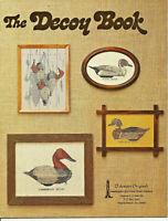 The Decoy Book Cross Stitch & Needlepoint Pattern Leaflet Ducks Goose Swan
