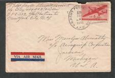 WWII cover T/Sgt Ray W Kleinert 459 AAA AW Bn APO 339 Gutersloh/270 Bad Nauheim