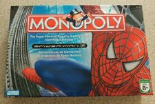 Monopoly Spider Man 100% Complete Board Game (Like New)