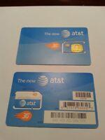 ****  AT&T PREPAID/POST PAID GO 3G 2G  / EDGE SIM CARD ALARMS & PET TAGS   ****