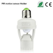 Infrared PIR Motion Sensor E27 LED Light Lamp Bulb Holder Socket Switch 110/220