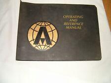 Atlas AMA-315 operators manual