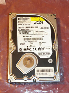 Apple 20GB EIDE Hard Drive For PowerMac eMac iMac G3 G4 With OS X 10.4 Tiger