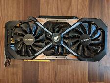 GIGABYTE AORUS GeForce GTX 1080 Ti 11GB Video Card (GV-N108TAORUS-11GD)