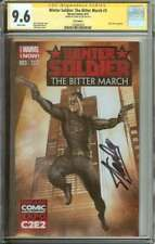 WINTER SOLDIER: THE BITTER MARCH #3 CGC 9.6 WHITE PAGES