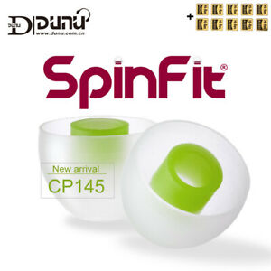 SpinFit CP145 CP-145 Silicone Eartip 4.5mm Nozzle Dia for DUNU/JVC/ Earphones
