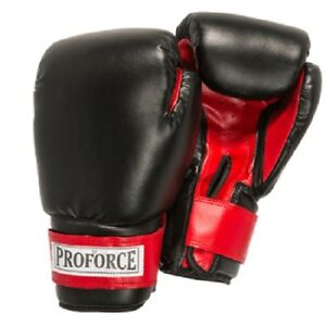 ProForce Leatherette Fitness Boxing Gloves for Cardio Fitness Workouts