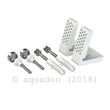 Angled Bathroom Pan Fixing Kit WC Toilet Floor