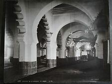 antique old PHOTO LEROUX MUSLIM MOSQUE EL KEBIR AFRICA  ALGERIA ALGER