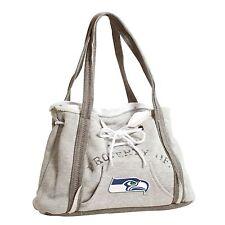 Seattle Seahawks NFL Football Team Ladies Embroidered Hoodie Purse Handbag