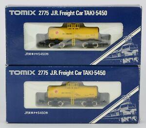 2 TOMIX 2775 KATO ? N GAUGE JAPAN JAPANESE RAILWAY JR BOGIE TANKERS BOXED & MINT