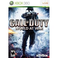 Call of Duty World at War (xbox 360 Classics) VGC With Manual