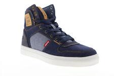 Levis Mason Hi 501 джинсовая 518995-UU32 мужская синяя холст высокие кроссовки обувь