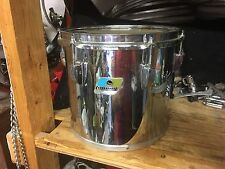 """1970's Ludwig 10"""" Concert Tom Drum- Chrome 6 ply -"""