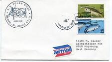 1986 R.V. Plar Duke Carino St. John's NFLD Arctic Antarctic Cover SIGNED