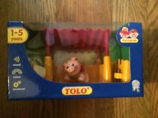 Tolo Toys First Friends 89781 Pre-School Pig Shed with Fence & Pig New in Box!