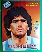 R@RIT@' LA STORIA DEI MONDIALI DEL 1986-LA MANO DI DIEGO MARADONA - NEW/PERFECT