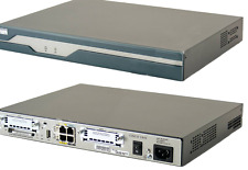 Cisco CISCO1812/K9 V08 Security Router w/ 2 10/100 WAN Ports 10/100BASE-T Switch