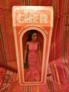 Nib 1976 cher 12 inch doll by mego corporation