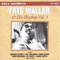 FATS WALLER - FATS WALLER & HIS RHYTHM, VOL. 1: 1934-1936 USED - VERY GOOD CD