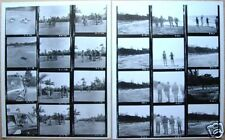TWO ORIGINAL 1965 HELP THE BEATLES FILM CONTACT SHEETS