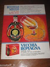 AA18=1968=VECCHIA ROMAGNA ETICHETTA NERA BRANDY=PUBBLICITA'=ADVERTISING=WERBUNG=