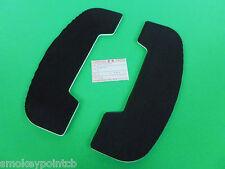 New Floor Board Rubber Pads 1987-2005 KZ1000 KZ1000P Police Floorboards E0310