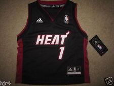 Chris Bosh #1 Miami Heat NBA Adidas Jersey Toddler 2T NEW NWT