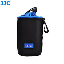 JJC 89 X 150mm Neoprene Lens Pouch Bag Case Waterproof W/ Carabiner & Belt Loop
