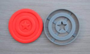 Captain America Cookie Cutter Fondant Cutter