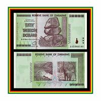 50 TRILLION ZIMBABWE DOLLAR MONEY CURRENCY.uncirculated (UNC) * 10 20 100 *