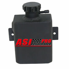 PRO ALUMINUM COOLANT EXPANSION CATCH Can TANK + BILLET CAP UNIVERSAL FABRICATED