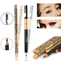 5 Colors Waterproof Eye Brow Eyebrow Pen Pencil With Brush Makeup Cosmetic Tool