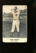1946 Remar Bread #12 Tom Hafey Oakland Oaks Good 17230