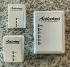 Actiontec  PWR504 Powerline Network Adapter Kit + 2 Extra Adapters Lightly Used