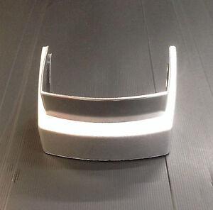 Rear frame protector bumper chrome effect for Vespa PX & LML Star by F.A. Italia