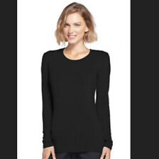 Cherokee Workwear Long Sleeve 4881 Womens Small Black