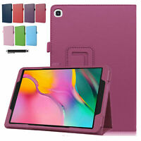 Leather Flip Smart Case Stand Cover For Samsung Galaxy Tab A 8.0/10.1/10.5 2019