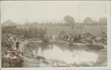 Postcard Hull Pickering Park Real photo 1911 local publisher