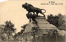 CPA St. Privat - Denkmal des 3. Garde Regt. zu FuB (393404)
