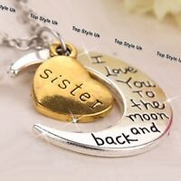 BLACK FRIDAY DEALS Gold Sisters Necklace Best Friends Xmas Gifts for Her Sale