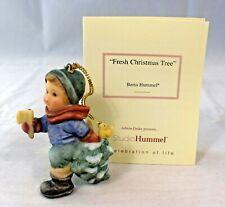 """Goebel Hummel - 1997 """"Fresh Christmas Tree"""" 3in. Christmas Ornament (Porcelain)"""