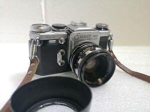 Edixa-Mat Reflex Mod S SLR Film Camera Schneider Kreuznach Xenon 1.9 50mm #215