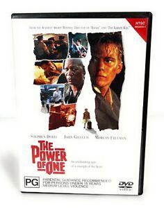 The Power Of One (DVD 1992) Stephen Dorff Region 4 Free Postage